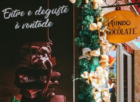 Mundo de Chocolate - parque temático em Gramado