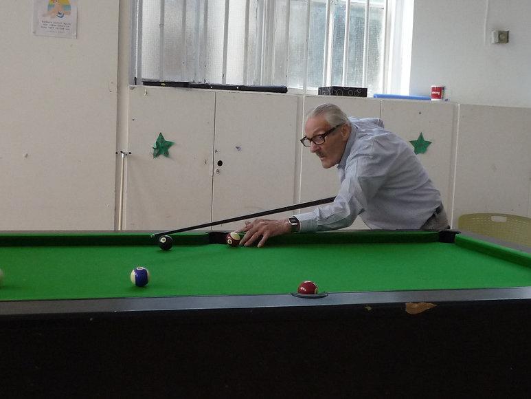 Bill playing pool.JPG