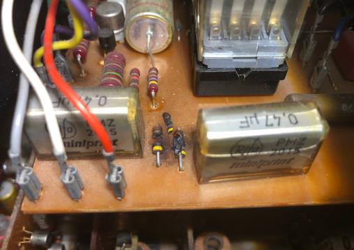 Blown Revox A77 Components