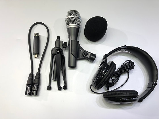 Remote Interview Recording Kit - Basic Package