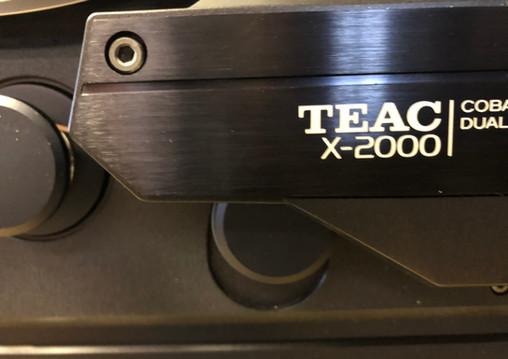 Teac X-2000 Headblock
