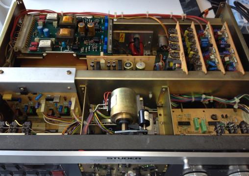 Studer A710 cassette deck