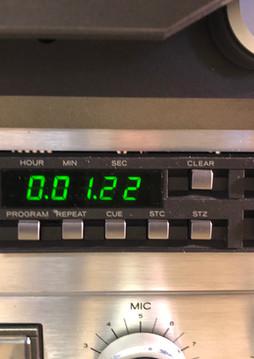 Akai X1000R Counter