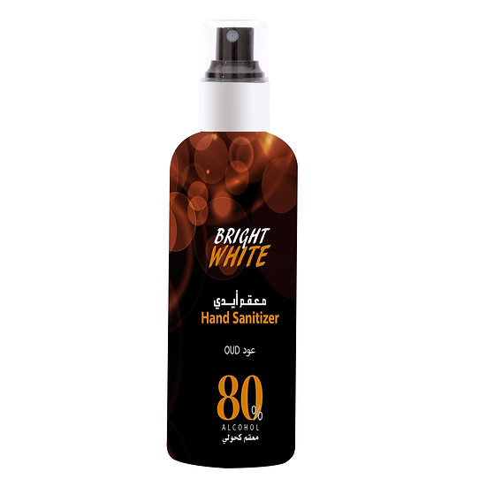 Brightwhite Hand Sanitizer Oud 80% ALCOHOL 180ml