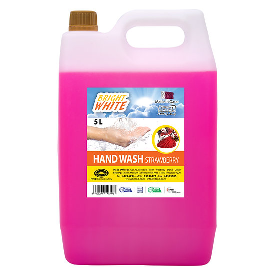 Brightwhite Hand Wash Strawberry 5L