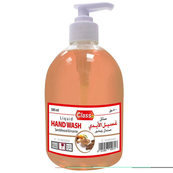 Class Hand Wash Sandalwood & Incense 500ml