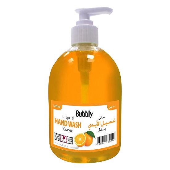 Bubbly Hand Wash Orange 500ml