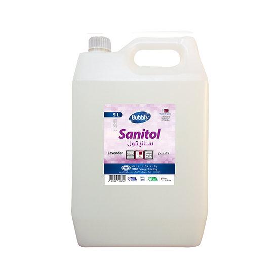 Bubbly Sanitol lavender 5L