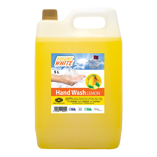 Brightwhite Hand Wash Lemon 5L