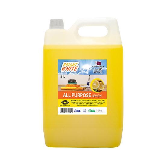 Brightwhite All Purpose Lemon 5L