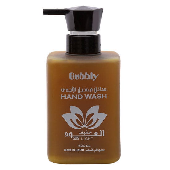 Bubbly Hand Wash Oud Light 500ml