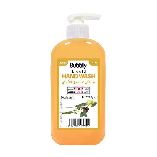 Bubbly Hand Wash Eucalyptus 500ml