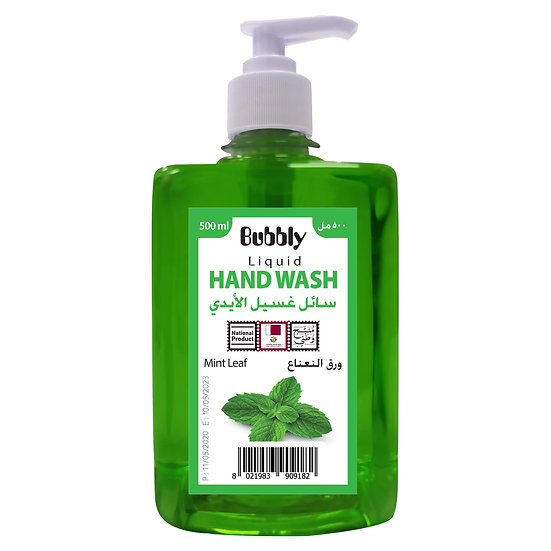 Bubbly Hand Wash Mint leaf 500ml