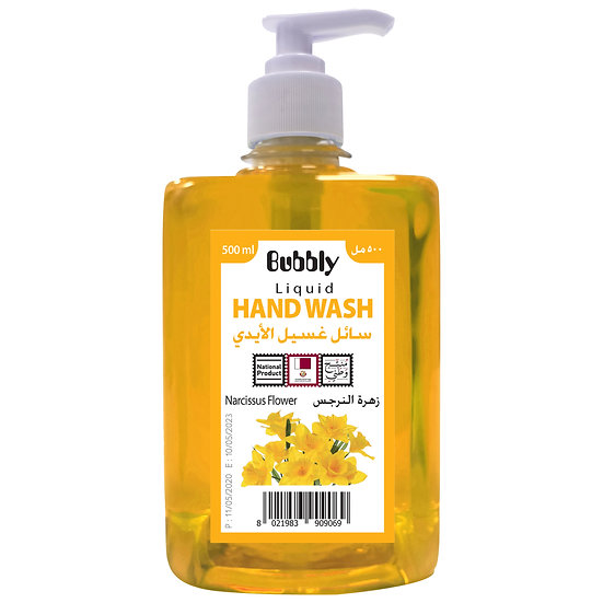 Bubbly Hand Wash Narcissus Flower 500ml