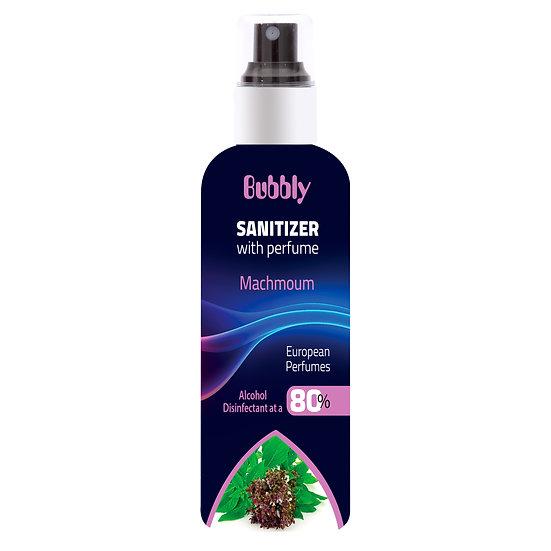 Bubbly Sanitizer With Perfume Machmoum 80% ALCOHOL 180ml