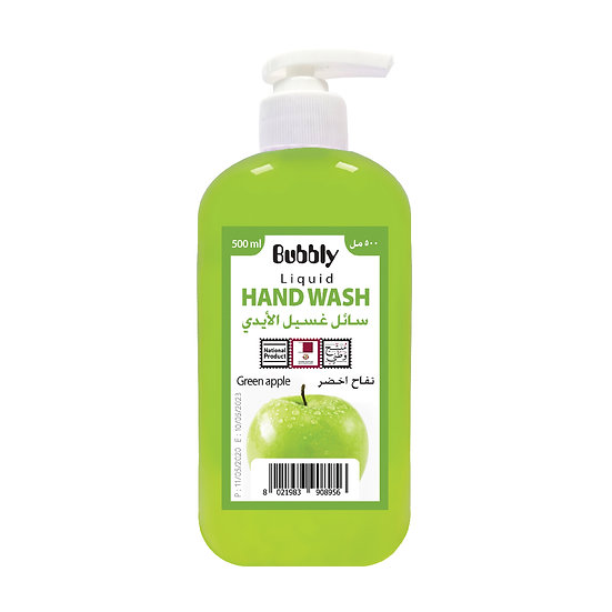 Bubbly Hand Wash Green apple 500ml