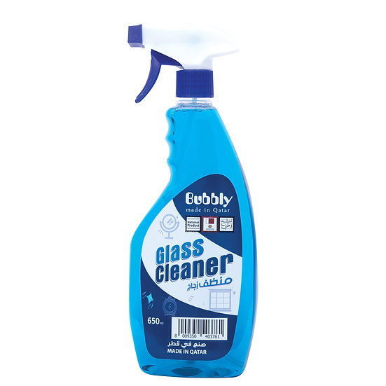 Bubbly Glass Cleaner 650 ML