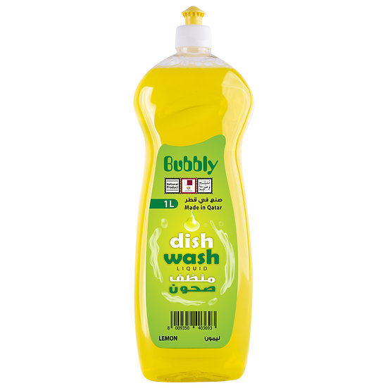 Bubbly Dish Wash Lemon 1L