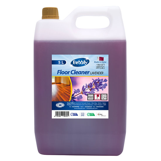 Bubbly Floor Cleaner Lavender  5L