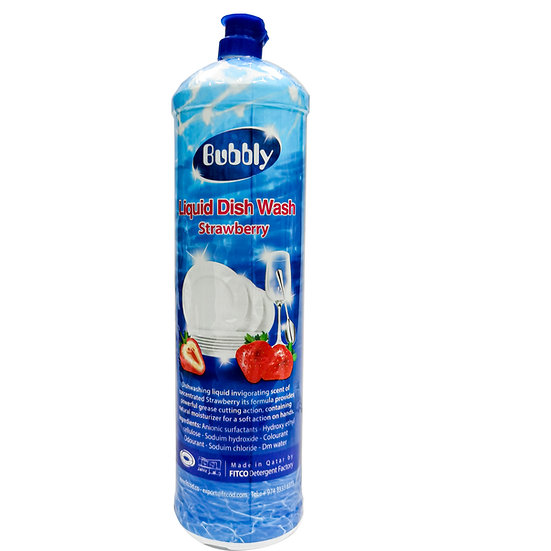 Bubbly Dish Wash CEL Strawberry 1L