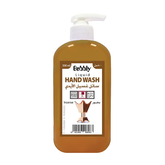 Bubbly Hand Wash incense 500ml