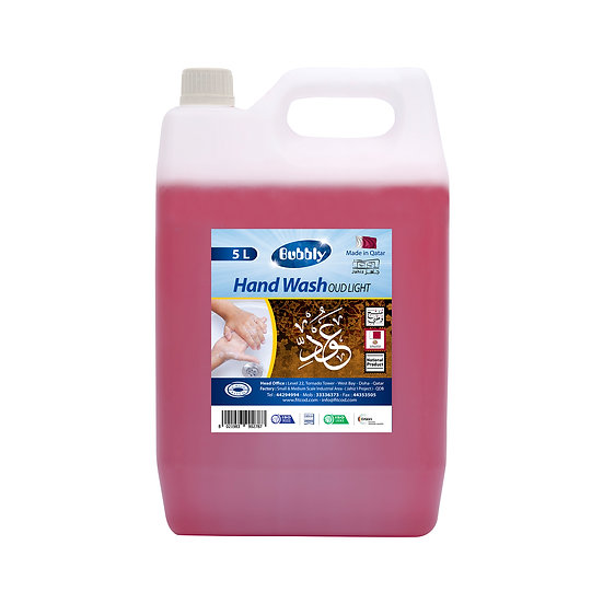 Bubbly Hand Wash Oud Light  5L