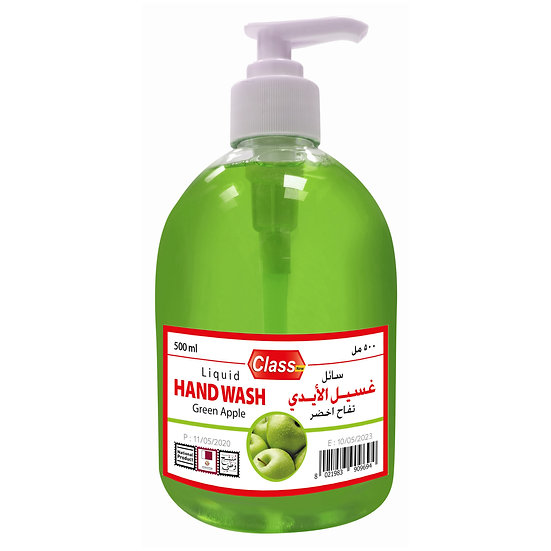 Class Hand Wash Green apple 500ml