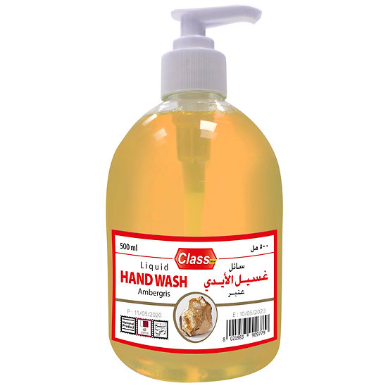 Class Hand Wash Ambergris 500ml