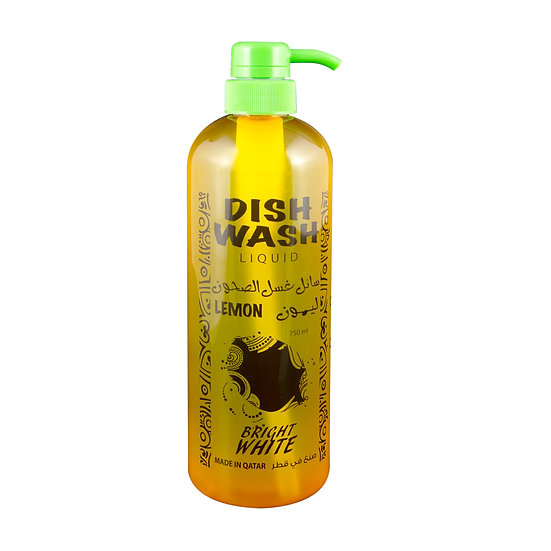 Brightwhite Dish Wash PUM Lemon 750ml