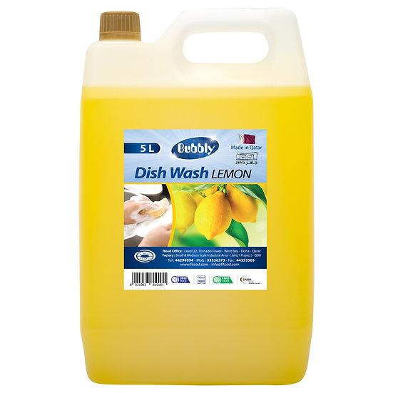 Bubbly Dish Wash Lemon 5L