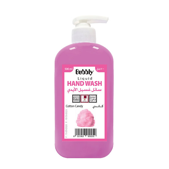 Bubbly Hand Wash Cotton Candy 500ml