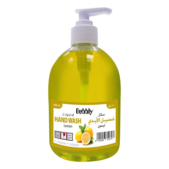 Bubbly Hand Wash  Lemon 500ml