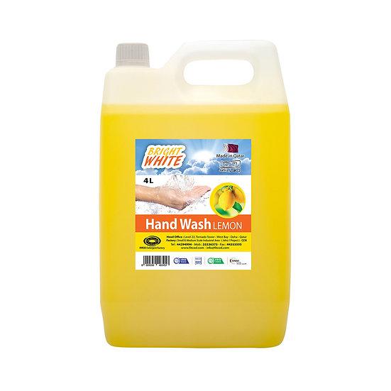 Brightwhite Hand Wash Lemon 4L
