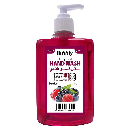 Bubbly Hand Wash Berries 500ml