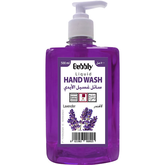 Bubbly Hand Wash lavender 500ml