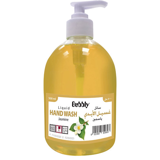 Bubbly Hand Wash Jasmine 500ml