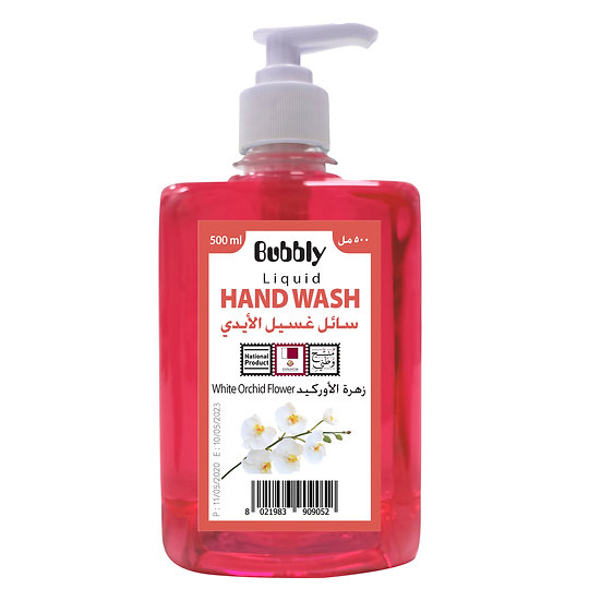 Bubbly Hand Wash White Orchid flower 500ml