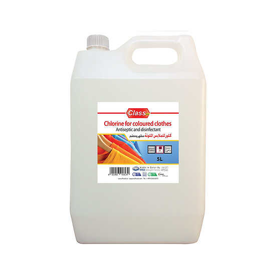 Class Chlorine FOR COLOURED CLOTHES  5L