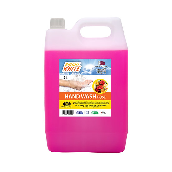Brightwhite Hand Wash Rose 5L