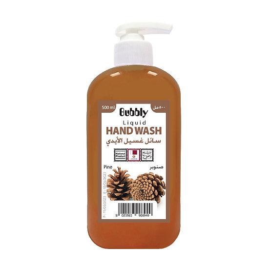 Bubbly Hand Wash pine 500ml