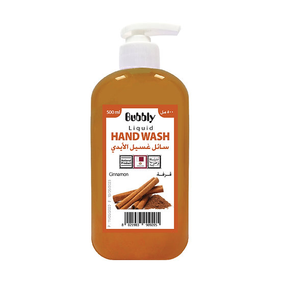 Bubbly Hand Wash Cinnamon 500ml