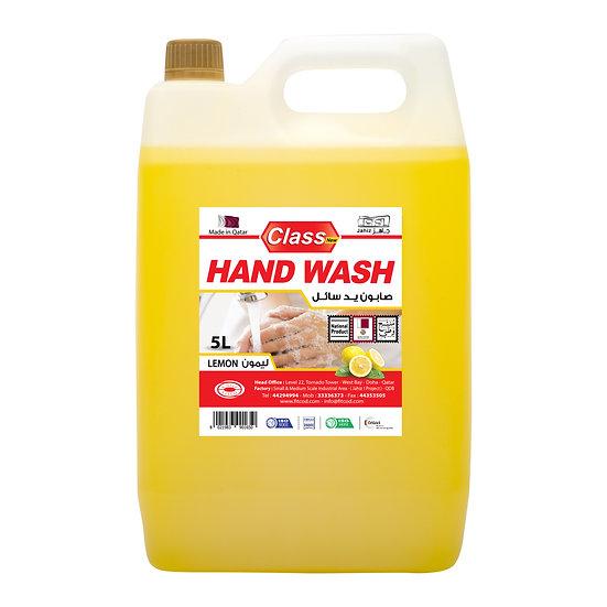 Class Hand Wash Lemon 5L