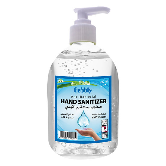 Bubbly Hand Sanitizer 70% Concentration 300 ml