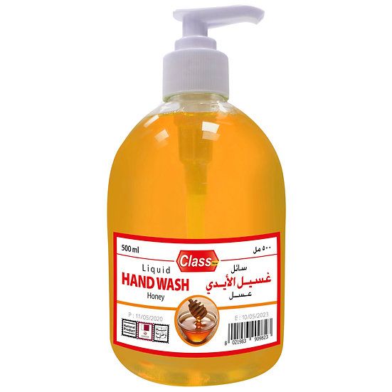 Class Hand Wash Honey 500ml