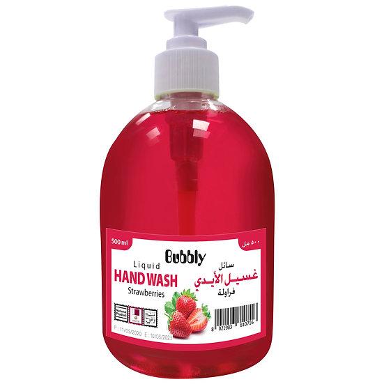 Bubbly Hand Wash Strawberry 500ml