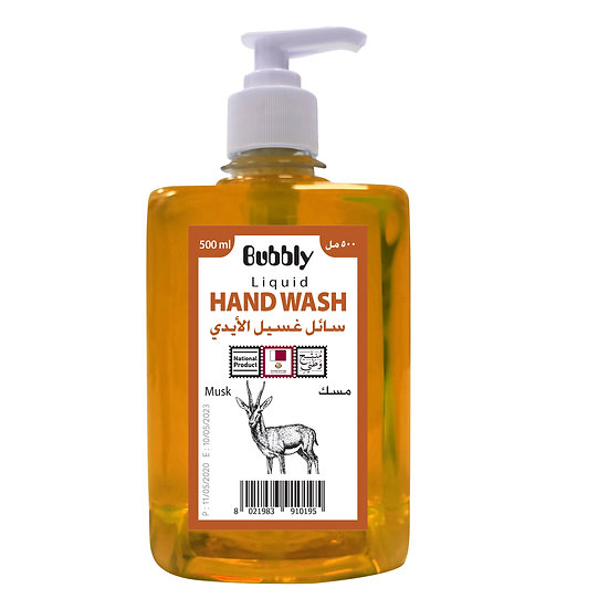 Bubbly Hand Wash Musk 500ml