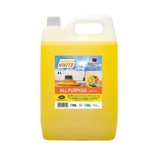 Brightwhite All Purpose Lemon 4L