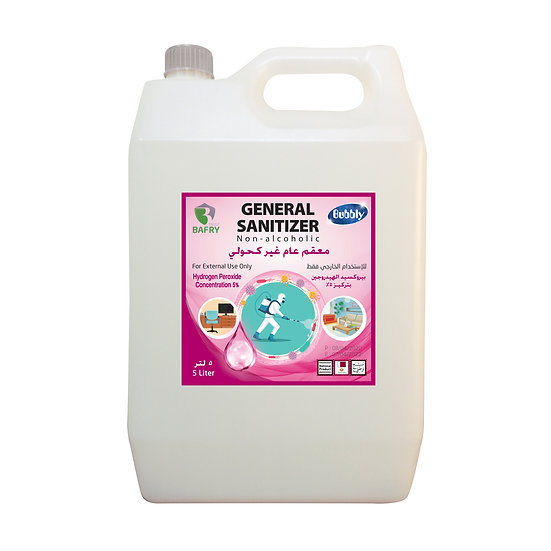Bubbly General Sanitizer Non-alcoholic Concentration 5% 5L