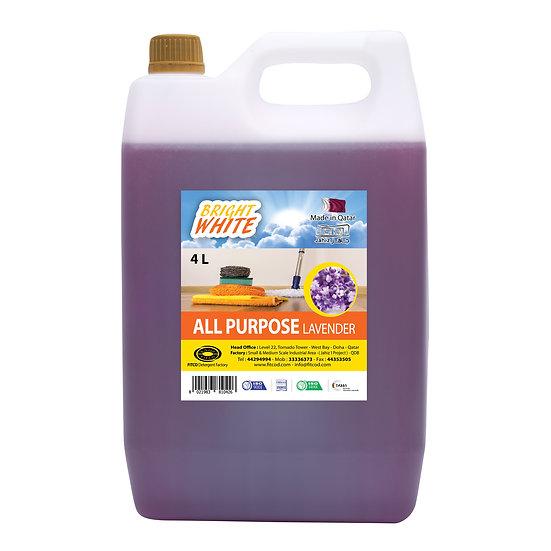 Brightwhite All Purpose Lavender 4L