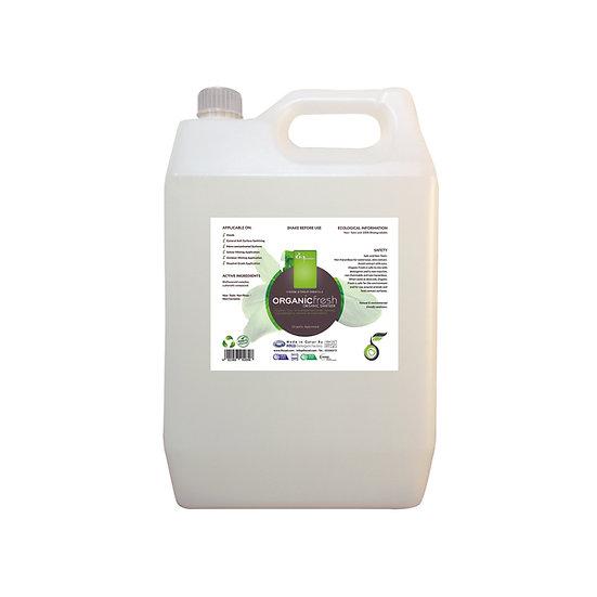 Organic Fresh organic sanitizer 5 L
